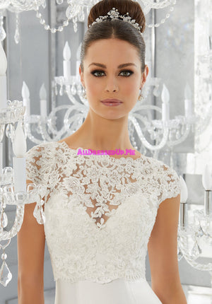 ML Accessories - 11275 - All Dressed Up, Bridal Jacket - Morilee - Chattanooga TN's All Dressed Up Bridal Shop / Bridal Boutique offers Wedding Gowns, Prom Dresses & Tuxedo Rentals