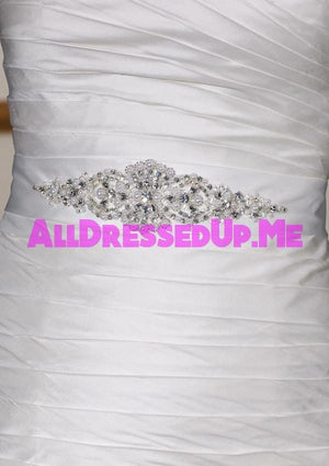 ML Accessories - 48 - All Dressed Up, Bridal Sash - Morilee - Chattanooga TN's All Dressed Up Bridal Shop / Bridal Boutique offers Wedding Gowns, Prom Dresses & Tuxedo Rentals