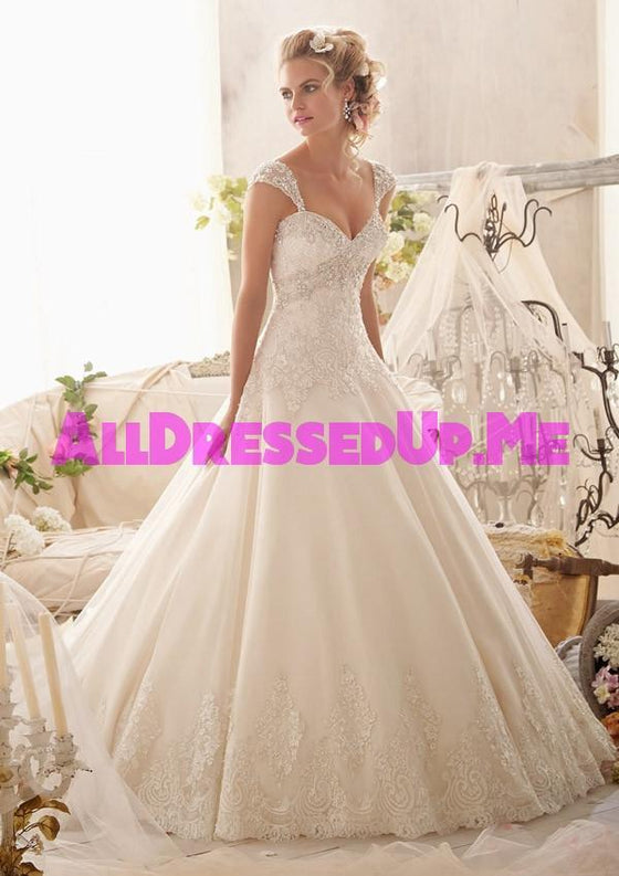 Mori Lee - 2609 - All Dressed Up, Bridal Gown - Morilee - - Wedding Gowns Dresses Chattanooga Hixson Shops Boutiques Tennessee TN Georgia GA MSRP Lowest Prices Sale Discount