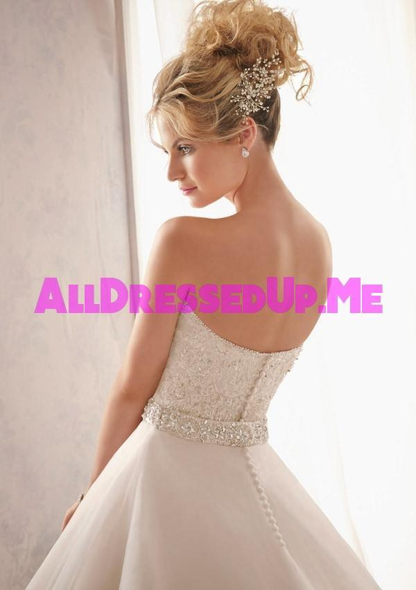 Mori Lee 2621 All Dressed Up Bridal Gown All