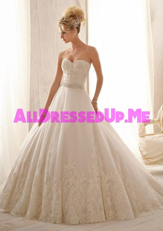 Mori Lee - 2621 - All Dressed Up, Bridal Gown - Morilee - - Wedding Gowns Dresses Chattanooga Hixson Shops Boutiques Tennessee TN Georgia GA MSRP Lowest Prices Sale Discount