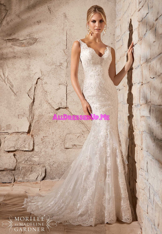 Mori Lee - 2708 - All Dressed Up, Bridal Gown - Morilee - - Wedding Gowns Dresses Chattanooga Hixson Shops Boutiques Tennessee TN Georgia GA MSRP Lowest Prices Sale Discount