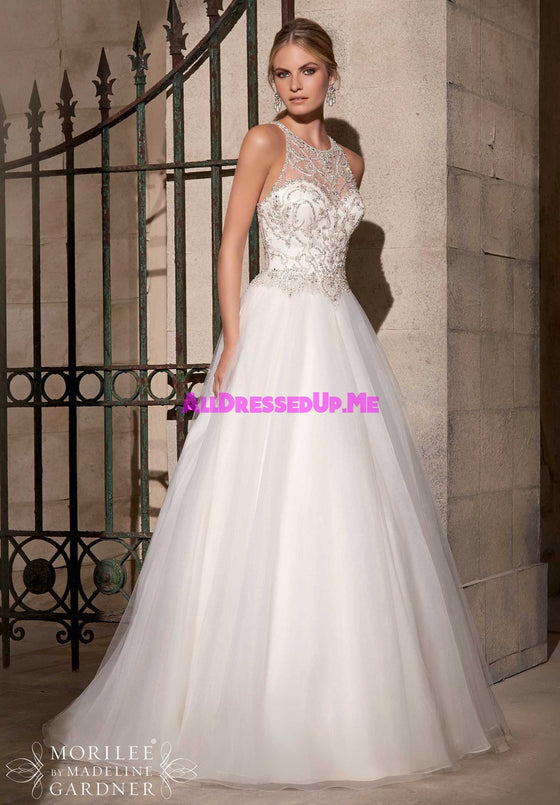Mori Lee - 2711 - All Dressed Up, Bridal Gown - Morilee - - Wedding Gowns Dresses Chattanooga Hixson Shops Boutiques Tennessee TN Georgia GA MSRP Lowest Prices Sale Discount