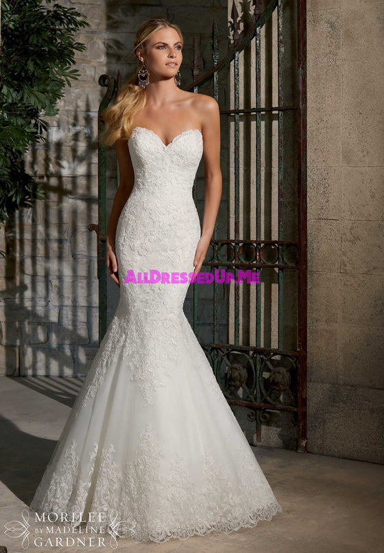 Mori Lee - 2713 - All Dressed Up, Bridal Gown - Morilee - - Wedding Gowns Dresses Chattanooga Hixson Shops Boutiques Tennessee TN Georgia GA MSRP Lowest Prices Sale Discount