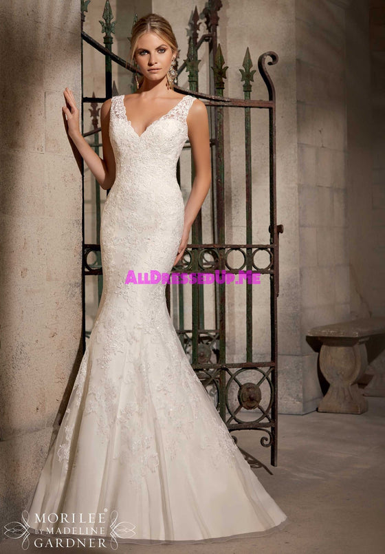 Mori Lee - 2714 - All Dressed Up, Bridal Gown - Morilee - - Wedding Gowns Dresses Chattanooga Hixson Shops Boutiques Tennessee TN Georgia GA MSRP Lowest Prices Sale Discount