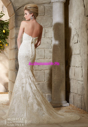 Morilee - 2782 - All Dressed Up, Bridal Gown - Morilee - - Wedding Gowns Dresses Chattanooga Hixson Shops Boutiques Tennessee TN Georgia GA MSRP Lowest Prices Sale Discount