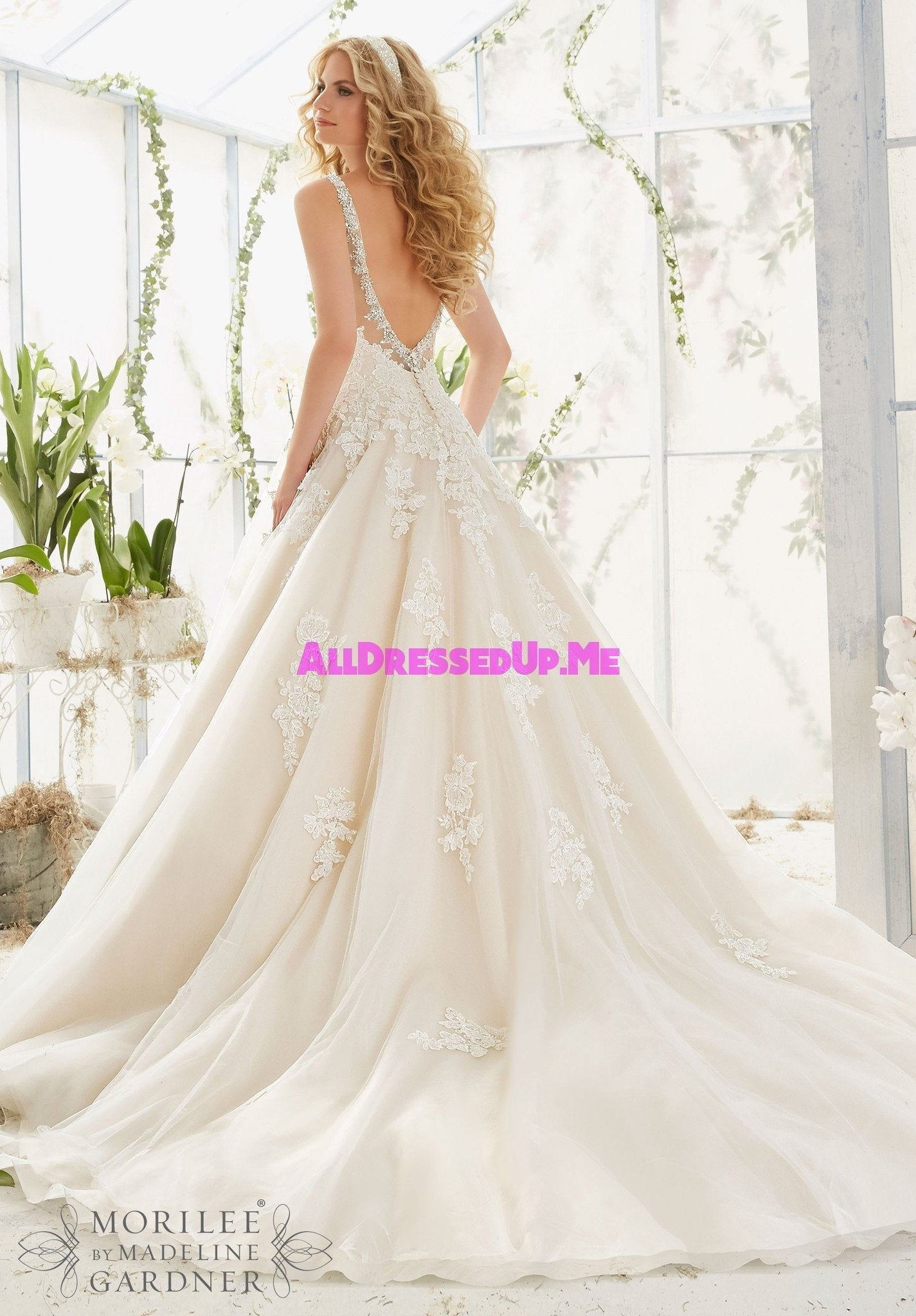 Mori Lee 2811 All Dressed Up Bridal Gown All
