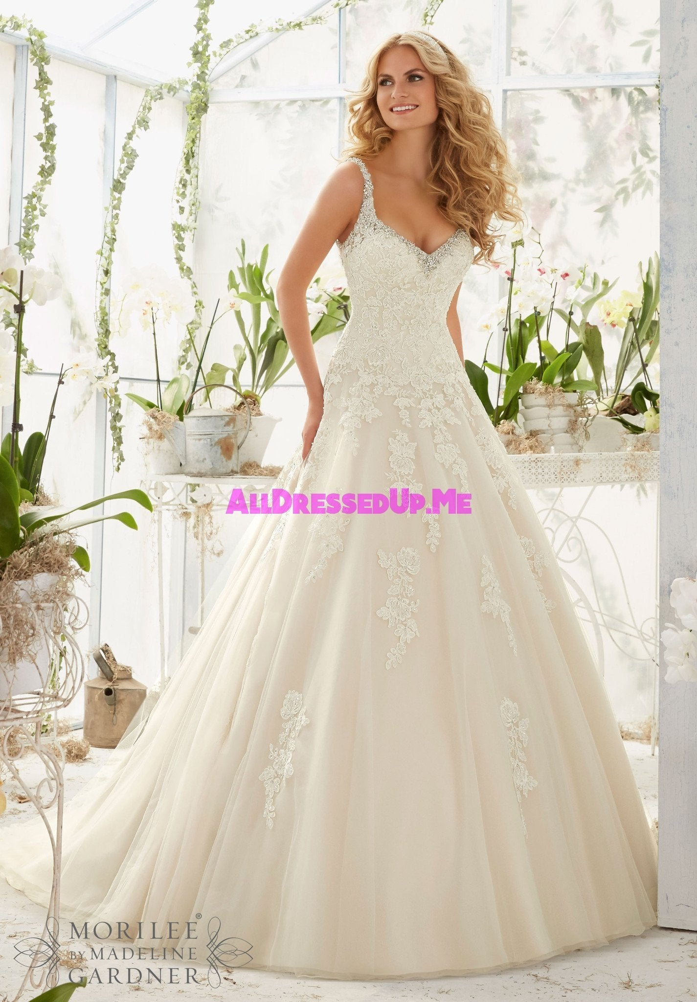 Mori lee 2811 all dressed up bridal gown all for Wedding dresses chattanooga tn
