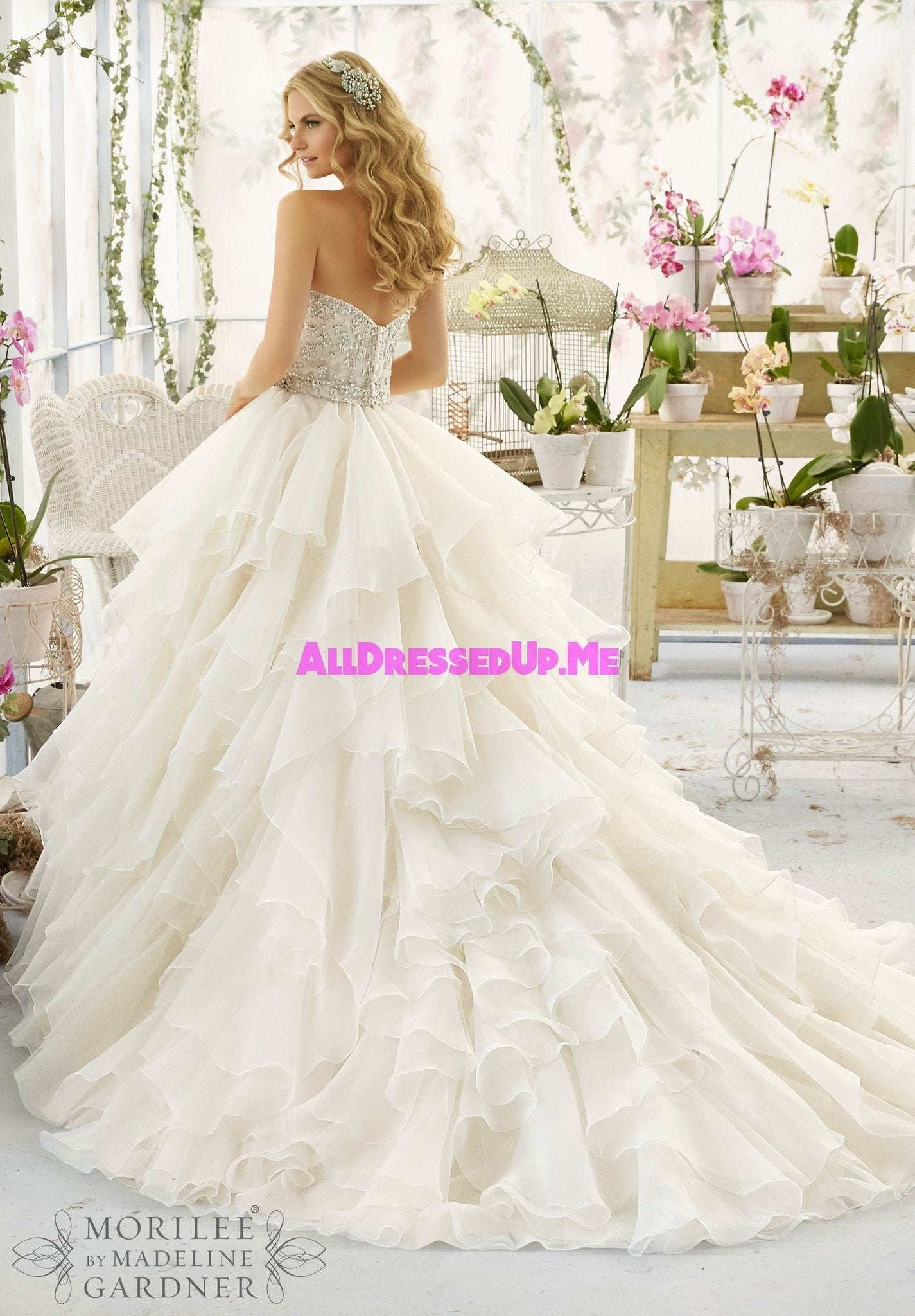 Mori lee 2815 all dressed up bridal gown all for Wedding dresses chattanooga tn