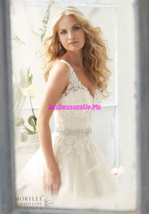 Morilee - 2821 - All Dressed Up, Bridal Gown - Morilee - - Wedding Gowns Dresses Chattanooga Hixson Shops Boutiques Tennessee TN Georgia GA MSRP Lowest Prices Sale Discount