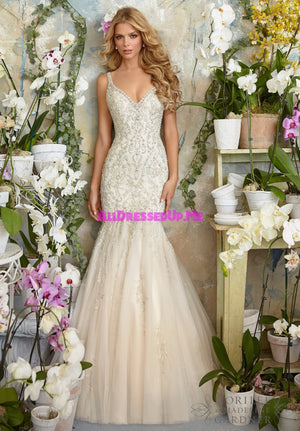 Morilee - 2823 - All Dressed Up, Bridal Gown - Morilee - - Wedding Gowns Dresses Chattanooga Hixson Shops Boutiques Tennessee TN Georgia GA MSRP Lowest Prices Sale Discount