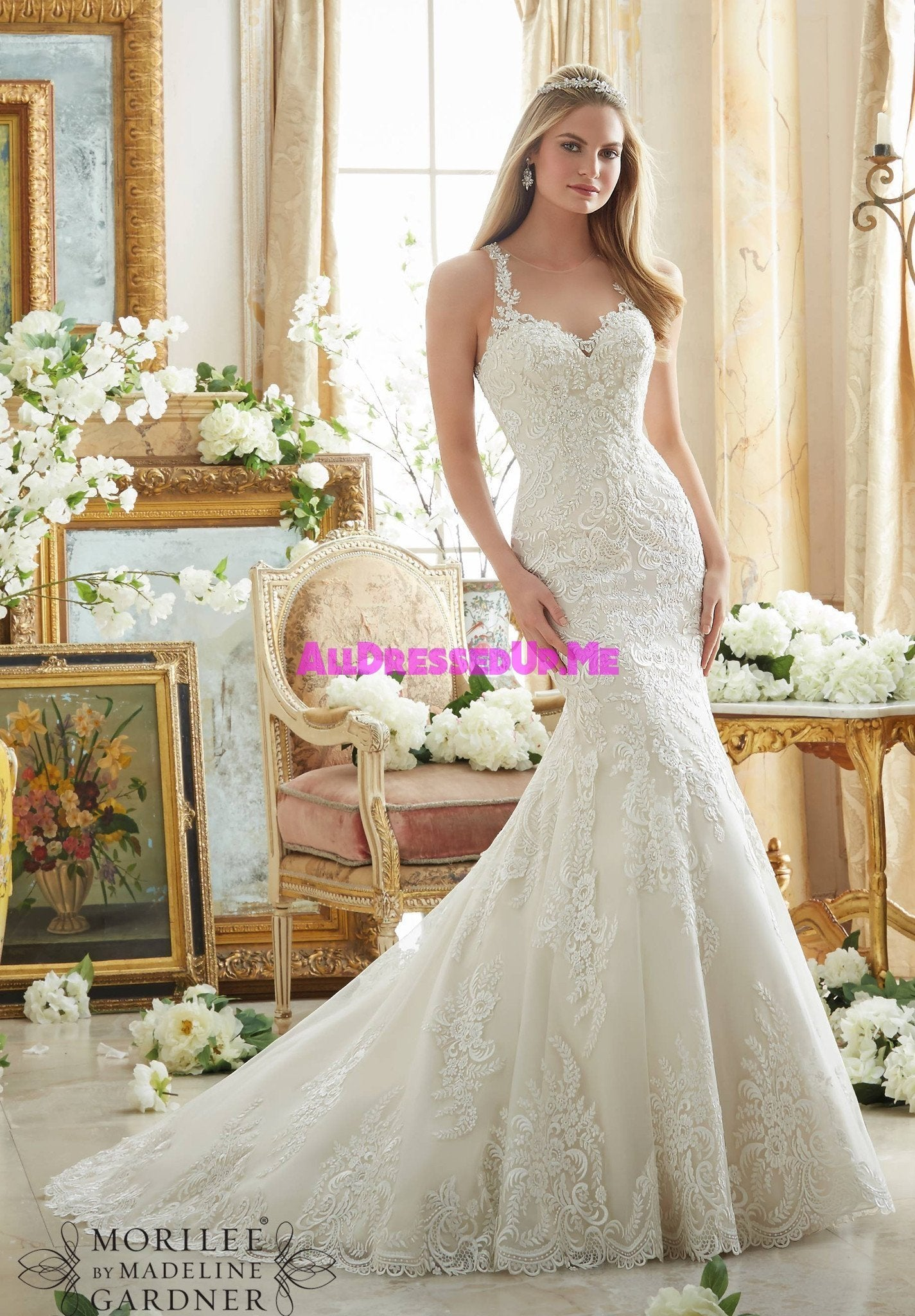 Mori Lee - 2876 - All Dressed Up, Bridal Gown - All Dressed Up ...