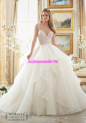 Morilee - 2887 - Cheron's Bridal, Wedding Gown - Morilee - - Wedding Gowns Dresses Chattanooga Hixson Shops Boutiques Tennessee TN Georgia GA MSRP Lowest Prices Sale Discount