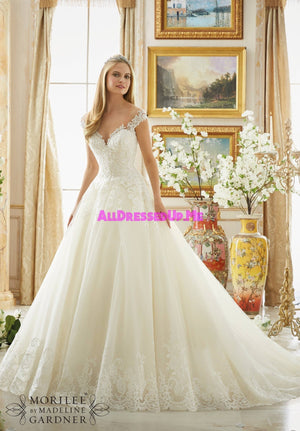 Morilee - 2889 - Cheron's Bridal, Wedding Gown - Morilee - - Wedding Gowns Dresses Chattanooga Hixson Shops Boutiques Tennessee TN Georgia GA MSRP Lowest Prices Sale Discount