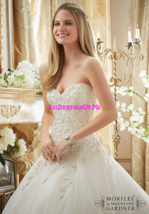 Morilee - 2892 - All Dressed Up, Bridal Gown - Morilee - - Wedding Gowns Dresses Chattanooga Hixson Shops Boutiques Tennessee TN Georgia GA MSRP Lowest Prices Sale Discount