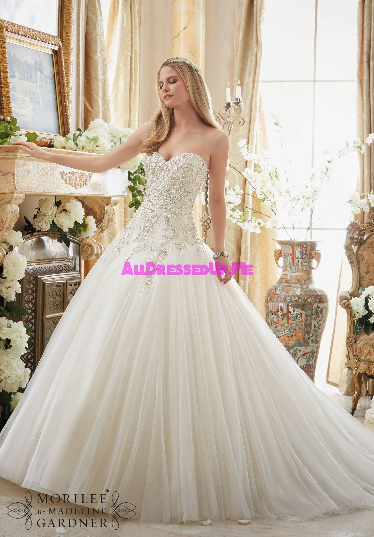 Mori Lee - 2892 - All Dressed Up, Bridal Gown - All Dressed Up ...