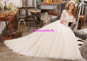 Morilee - Maira - 8110 - All Dressed Up, Bridal Gown - Morilee - - Wedding Gowns Dresses Chattanooga Hixson Shops Boutiques Tennessee TN Georgia GA MSRP Lowest Prices Sale Discount