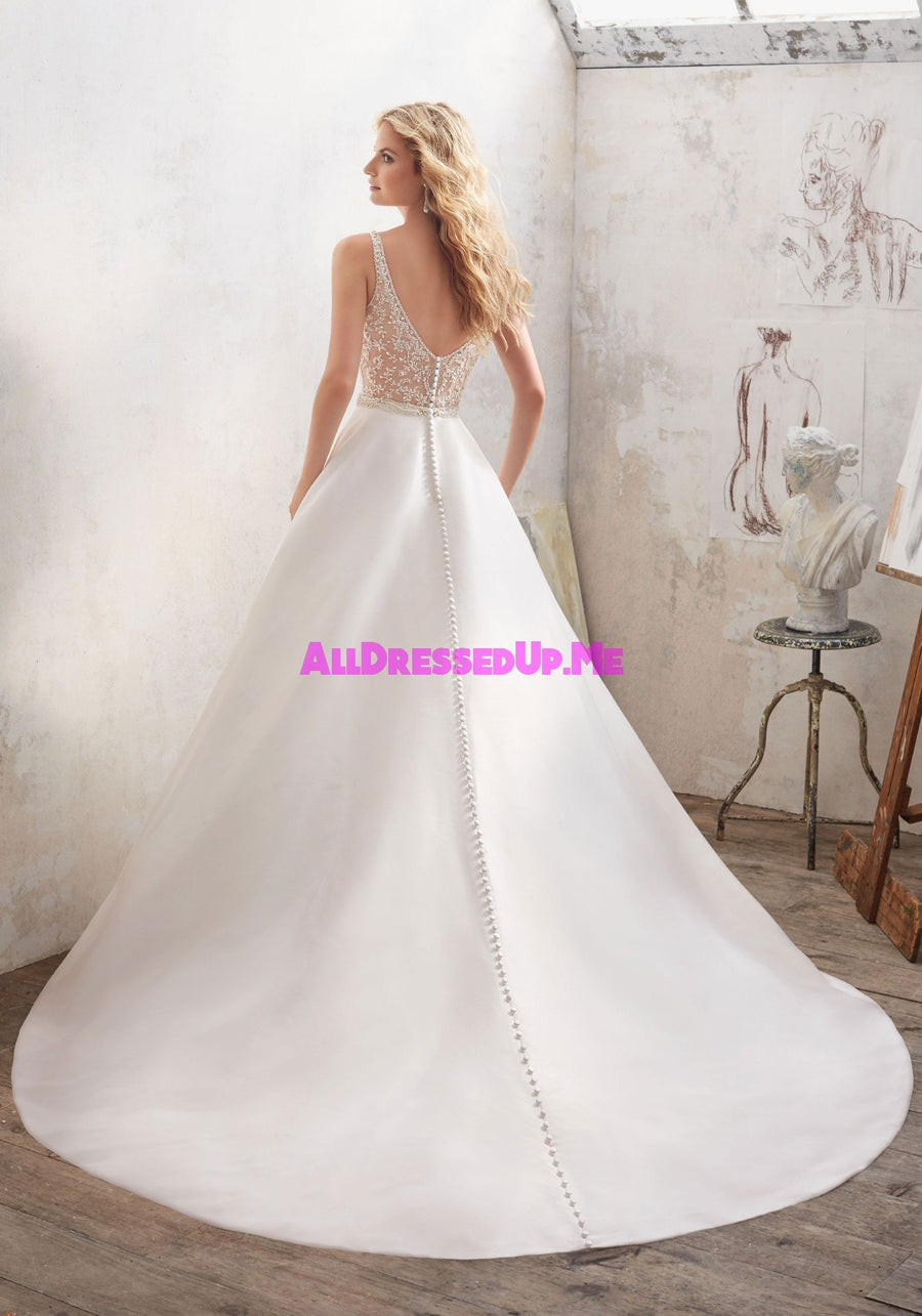 Morilee - Maribella - 8123 - Cheron's Bridal, Wedding Gown - Morilee - - Wedding Gowns Dresses Chattanooga Hixson Shops Boutiques Tennessee TN Georgia GA MSRP Lowest Prices Sale Discount