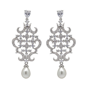 David Tutera Embellish - Nora Pearl Earrings - All Dressed Up, Jewelry