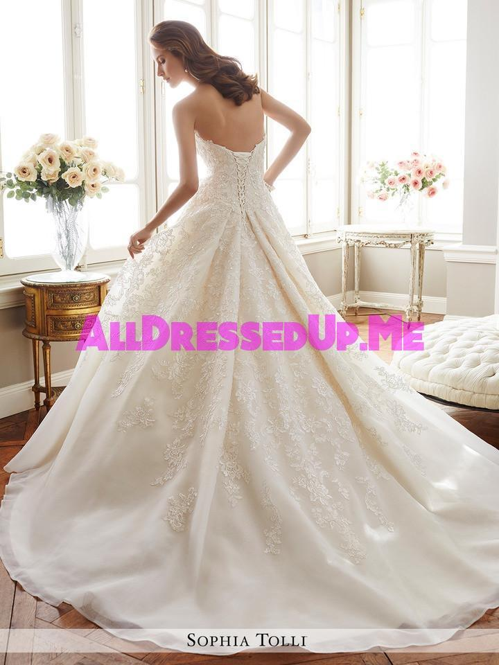 Sophia Tolli - Allaire - Y11713 - All Dressed Up, Bridal Gown - Mon Cheri - - Wedding Gowns Dresses Chattanooga Hixson Shops Boutiques Tennessee TN Georgia GA MSRP Lowest Prices Sale Discount