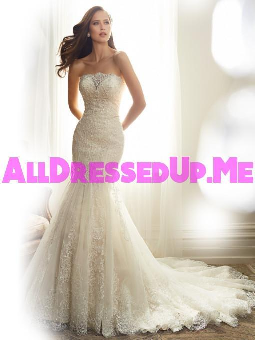 Sophia Tolli - Alouette - Y11574 - All Dressed Up, Bridal Gown - Mon Cheri - - Wedding Gowns Dresses Chattanooga Hixson Shops Boutiques Tennessee TN Georgia GA MSRP Lowest Prices Sale Discount
