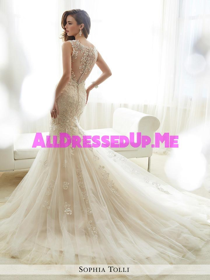 Sophia Tolli - Amie - Y11722 - All Dressed Up, Bridal Gown - Mon Cheri - - Wedding Gowns Dresses Chattanooga Hixson Shops Boutiques Tennessee TN Georgia GA MSRP Lowest Prices Sale Discount