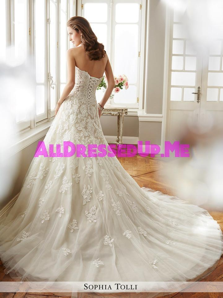 Sophia Tolli - Antoinette - Y11725 - All Dressed Up, Bridal Gown - Mon Cheri - - Wedding Gowns Dresses Chattanooga Hixson Shops Boutiques Tennessee TN Georgia GA MSRP Lowest Prices Sale Discount