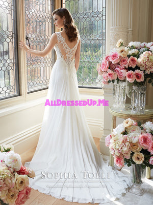 Sophia Tolli - Augusta - Y11633 - All Dressed Up, Bridal Gown - Mon Cheri - - Wedding Gowns Dresses Chattanooga Hixson Shops Boutiques Tennessee TN Georgia GA MSRP Lowest Prices Sale Discount