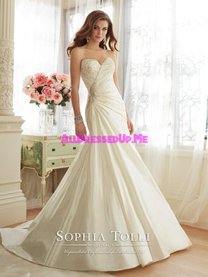 Sophia Tolli - Basilia - Y11638 - All Dressed Up, Bridal Gown - Mon Cheri - - Wedding Gowns Dresses Chattanooga Hixson Shops Boutiques Tennessee TN Georgia GA MSRP Lowest Prices Sale Discount