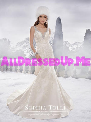 Sophia Tolli - Brook - Y21505 - All Dressed Up, Bridal Gown - Mon Cheri - - Wedding Gowns Dresses Chattanooga Hixson Shops Boutiques Tennessee TN Georgia GA MSRP Lowest Prices Sale Discount