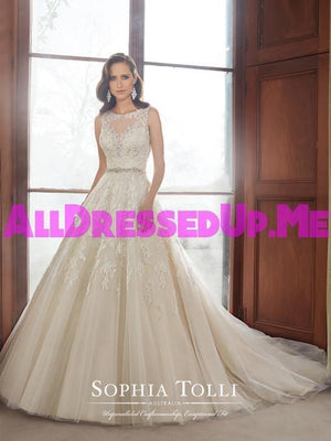 Sophia Tolli - Carson - Y21520 - All Dressed Up, Bridal Gown - Mon Cheri - - Wedding Gowns Dresses Chattanooga Hixson Shops Boutiques Tennessee TN Georgia GA MSRP Lowest Prices Sale Discount