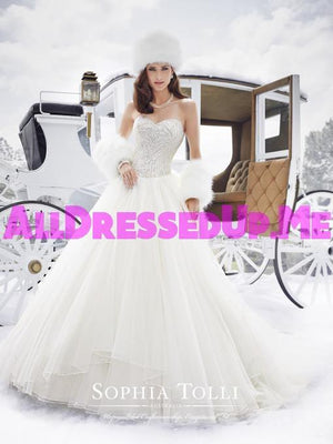 Sophia Tolli - Cassidy - Y21506 - All Dressed Up, Bridal Gown - Mon Cheri - - Wedding Gowns Dresses Chattanooga Hixson Shops Boutiques Tennessee TN Georgia GA MSRP Lowest Prices Sale Discount
