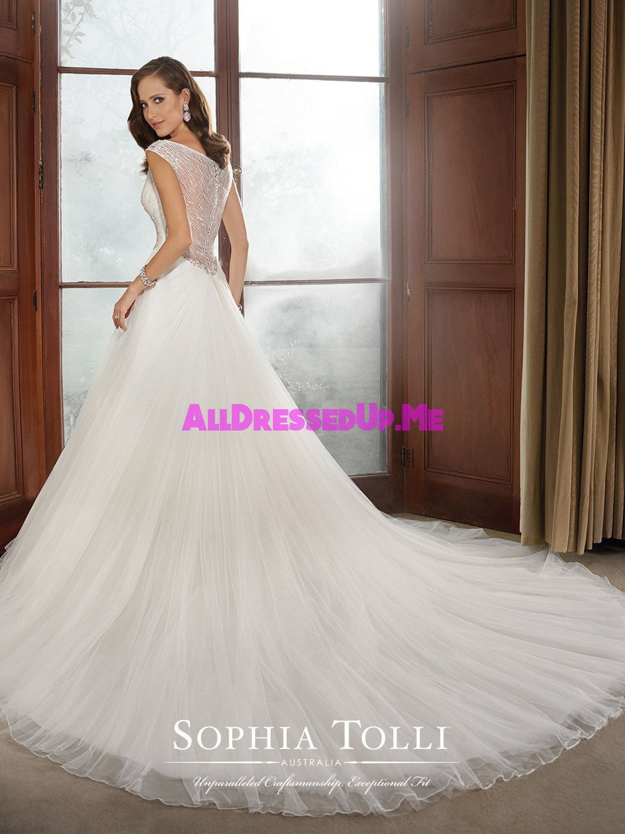 Sophia Tolli - Chandler - Y21517 - All Dressed Up, Bridal Gown - Mon Cheri - - Wedding Gowns Dresses Chattanooga Hixson Shops Boutiques Tennessee TN Georgia GA MSRP Lowest Prices Sale Discount