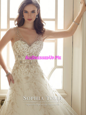 Sophia Tolli Couture - Darice - Y11650 - All Dressed Up, Bridal Gown - Mon Cheri - - Wedding Gowns Dresses Chattanooga Hixson Shops Boutiques Tennessee TN Georgia GA MSRP Lowest Prices Sale Discount