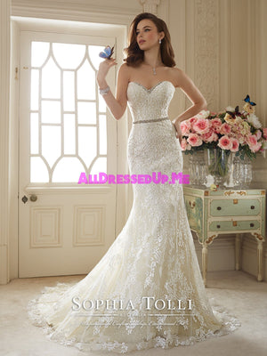 Sophia Tolli Couture - Kenley - Y11649 - All Dressed Up, Bridal Gown - Mon Cheri - - Wedding Gowns Dresses Chattanooga Hixson Shops Boutiques Tennessee TN Georgia GA MSRP Lowest Prices Sale Discount