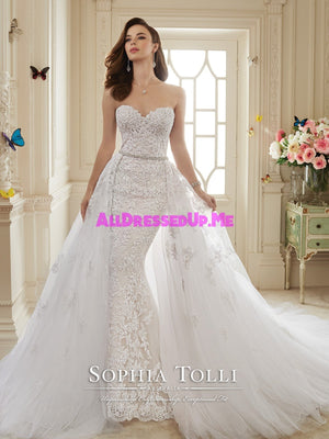 Sophia Tolli Couture - Maeve - Y11652 - All Dressed Up, Bridal Gown - Mon Cheri - - Wedding Gowns Dresses Chattanooga Hixson Shops Boutiques Tennessee TN Georgia GA MSRP Lowest Prices Sale Discount