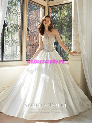 Sophia Tolli - Kendria - Y11627 - All Dressed Up, Bridal Gown - Mon Cheri - - Wedding Gowns Dresses Chattanooga Hixson Shops Boutiques Tennessee TN Georgia GA MSRP Lowest Prices Sale Discount
