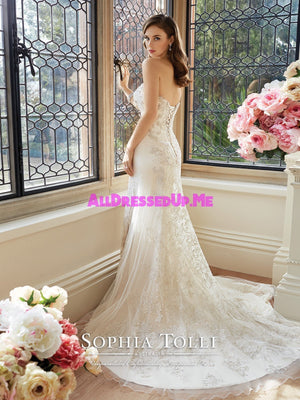Sophia Tolli - Kyla - Y11639 - All Dressed Up, Bridal Gown - Mon Cheri - - Wedding Gowns Dresses Chattanooga Hixson Shops Boutiques Tennessee TN Georgia GA MSRP Lowest Prices Sale Discount