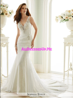 Sophia Tolli - Lucca - Y21669 - All Dressed Up, Bridal Gown - Mon Cheri - - Wedding Gowns Dresses Chattanooga Hixson Shops Boutiques Tennessee TN Georgia GA MSRP Lowest Prices Sale Discount