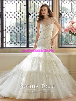 Sophia Tolli - Majestas - Y11648 - All Dressed Up, Bridal Gown - Mon Cheri - - Wedding Gowns Dresses Chattanooga Hixson Shops Boutiques Tennessee TN Georgia GA MSRP Lowest Prices Sale Discount