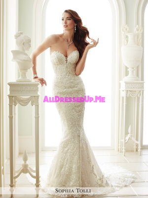 Sophia Tolli - Milano - Y21671 - All Dressed Up, Bridal Gown - Mon Cheri - - Wedding Gowns Dresses Chattanooga Hixson Shops Boutiques Tennessee TN Georgia GA MSRP Lowest Prices Sale Discount