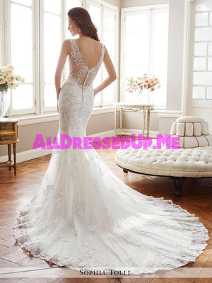 Sophia Tolli - Monaco - Y11712 - All Dressed Up, Bridal Gown - Mon Cheri - - Wedding Gowns Dresses Chattanooga Hixson Shops Boutiques Tennessee TN Georgia GA MSRP Lowest Prices Sale Discount