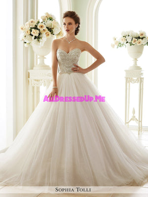 Sophia Tolli - Novella - Y21663 - All Dressed Up, Bridal Gown - Mon Cheri - - Wedding Gowns Dresses Chattanooga Hixson Shops Boutiques Tennessee TN Georgia GA MSRP Lowest Prices Sale Discount