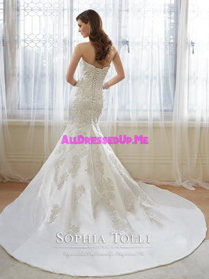 Sophia Tolli - Reine - Y11636 - All Dressed Up, Bridal Gown - Mon Cheri - - Wedding Gowns Dresses Chattanooga Hixson Shops Boutiques Tennessee TN Georgia GA MSRP Lowest Prices Sale Discount