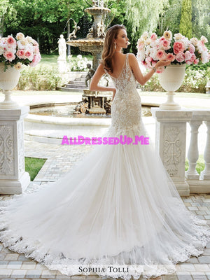 Sophia Tolli - Rome - Y21665 - All Dressed Up, Bridal Gown - Mon Cheri - - Wedding Gowns Dresses Chattanooga Hixson Shops Boutiques Tennessee TN Georgia GA MSRP Lowest Prices Sale Discount