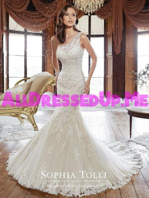 Sophia Tolli - Rory - Y21501 - All Dressed Up, Bridal Gown - Mon Cheri - - Wedding Gowns Dresses Chattanooga Hixson Shops Boutiques Tennessee TN Georgia GA MSRP Lowest Prices Sale Discount
