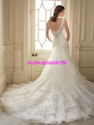 Sophia Tolli - Thema - Y11647 - All Dressed Up, Bridal Gown - Mon Cheri - - Wedding Gowns Dresses Chattanooga Hixson Shops Boutiques Tennessee TN Georgia GA MSRP Lowest Prices Sale Discount