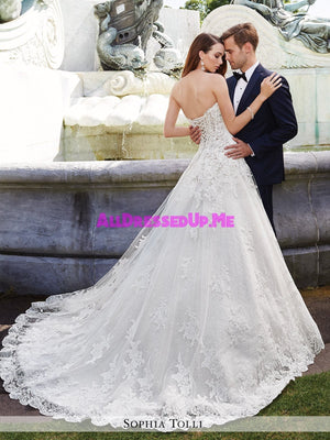 Sophia Tolli - Trevi - Y21658 - All Dressed Up, Bridal Gown - Mon Cheri - - Wedding Gowns Dresses Chattanooga Hixson Shops Boutiques Tennessee TN Georgia GA MSRP Lowest Prices Sale Discount