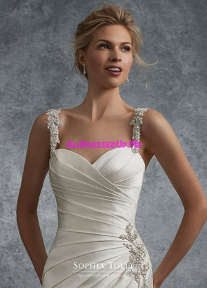 Sophia Tolli - Y21738LS - Aludra - All Dressed Up, Bridal Gown - Mon Cheri - - Wedding Gowns Dresses Chattanooga Hixson Shops Boutiques Tennessee TN Georgia GA MSRP Lowest Prices Sale Discount