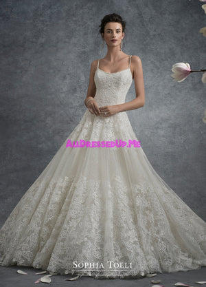 Sophia Tolli - Y21743 - Jupiter - All Dressed Up, Bridal Gown - Mon Cheri - - Wedding Gowns Dresses Chattanooga Hixson Shops Boutiques Tennessee TN Georgia GA MSRP Lowest Prices Sale Discount